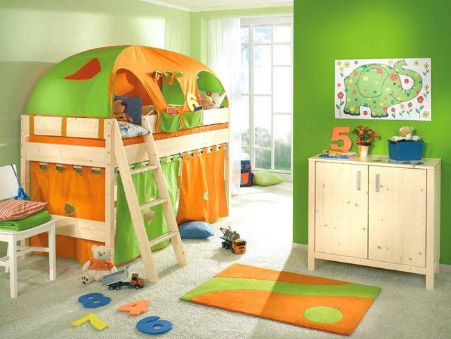 Zidni ukras u dječjoj sobi