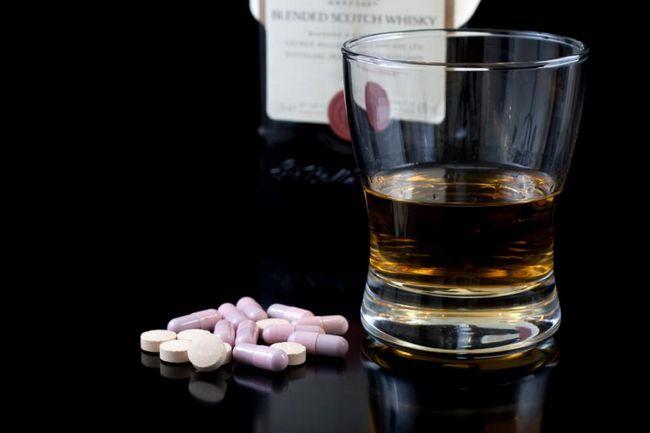 tablete Isoprinozin i alkohol