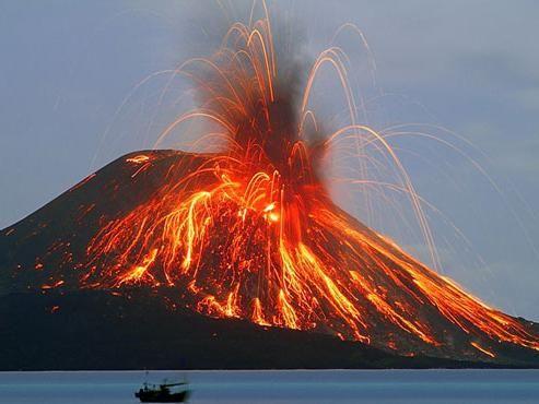 vulkanska erupcija