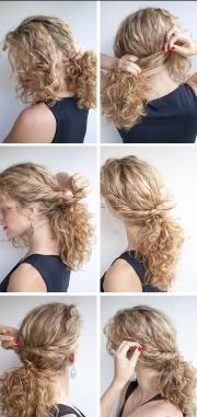 frizuru za večer za dugu kosu