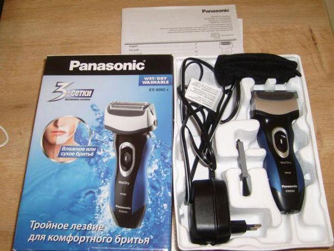 električni aparat za brijanje panasonic es 6002