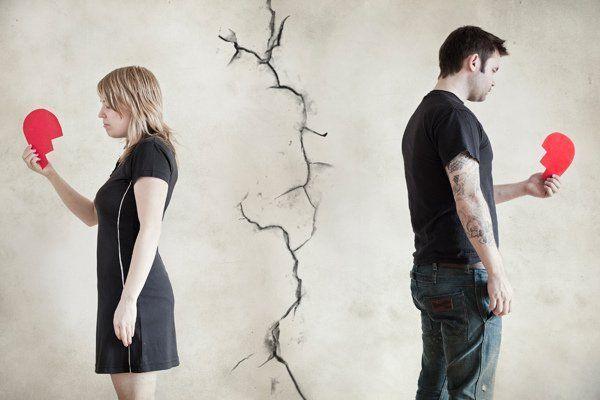 kako bezbolno preživjeti raspad s voljenom osobom