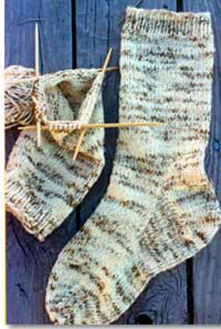 muške čarape s iglom za pletenje