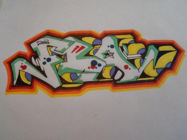 kako nacrtati grafite na papiru