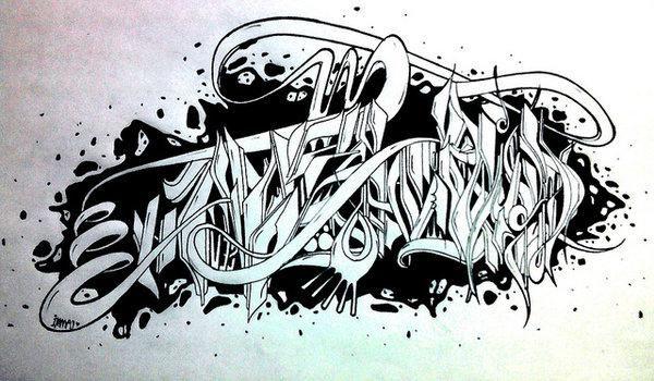 kako nacrtati prekrasne grafite