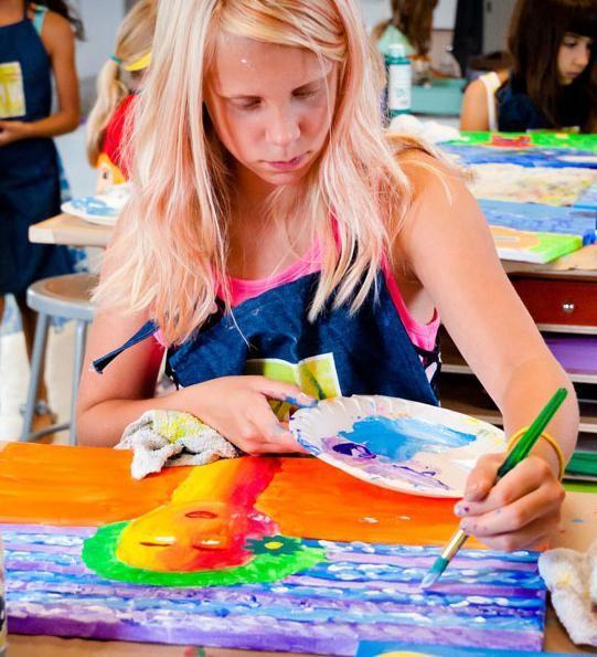 как нарисовать лето детям