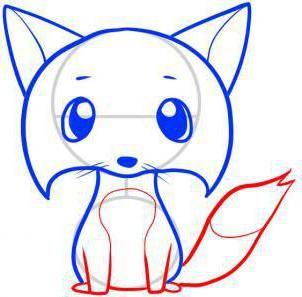 za povlačenje lisice u olovku korak po korak