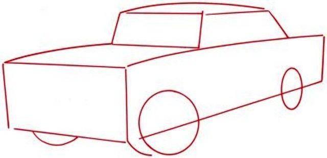 Kako nacrtati automobil s olovkom - majstorska klasa