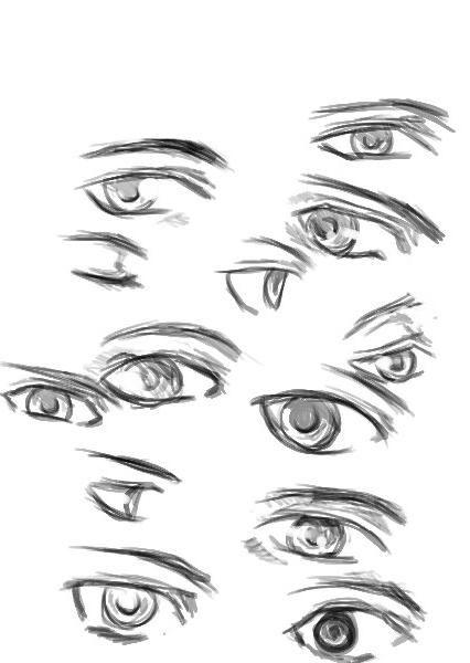 kako crtati portret djevojke
