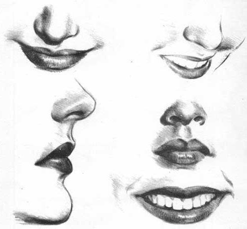 nacrtati portret djevojke u fazama s olovkom