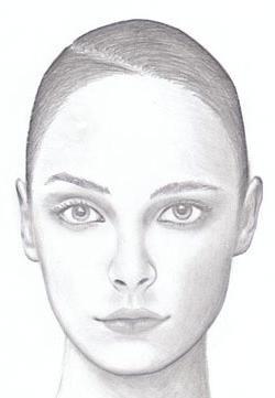 izvući portret djevojke