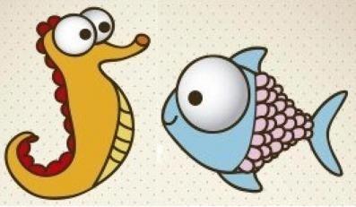Kako crtati ribu i akvarij - dvije majstorske klase