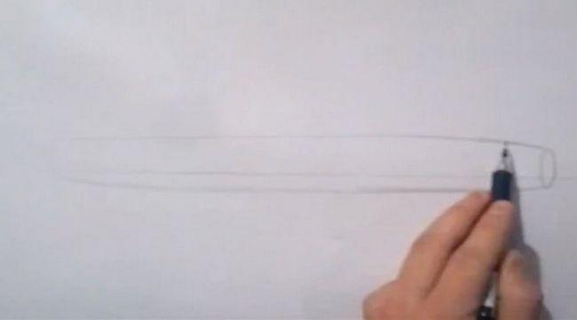 kako nacrtati zrakoplov u fazama