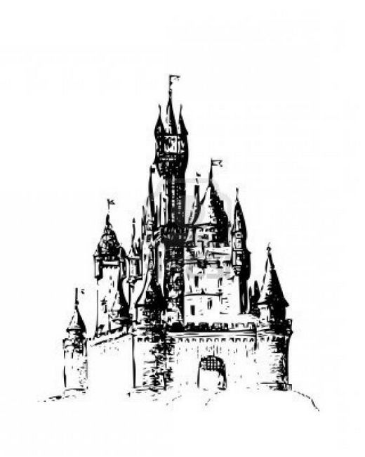 Kako crtati dvorac. Podrobna uputa