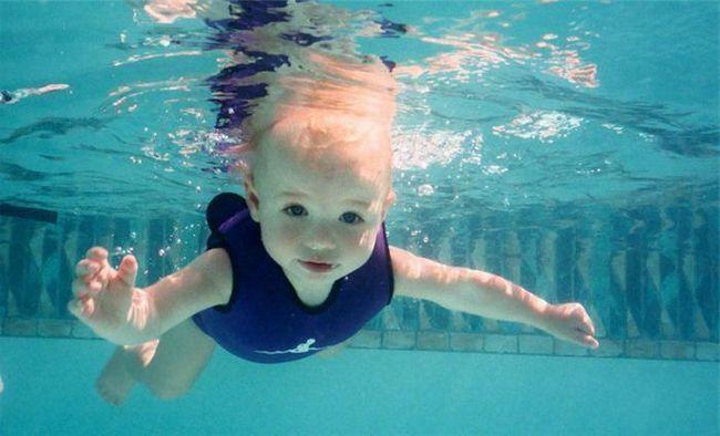 gdje poučiti dijete da pliva