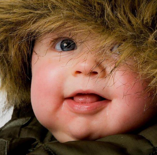kako prerušiti novorođenče zimi