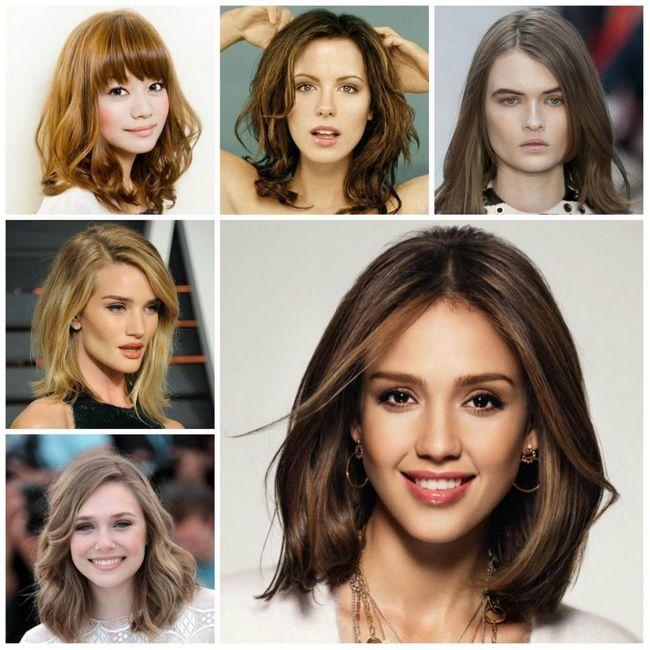 frizure za ovalno lice