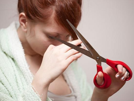 Kako smanjiti kosu šiške