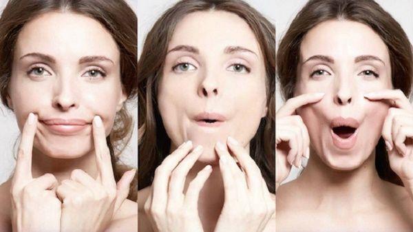 vježbe za lice