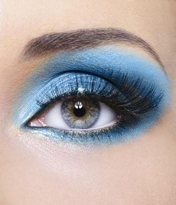 nijanse sjena za plave oči