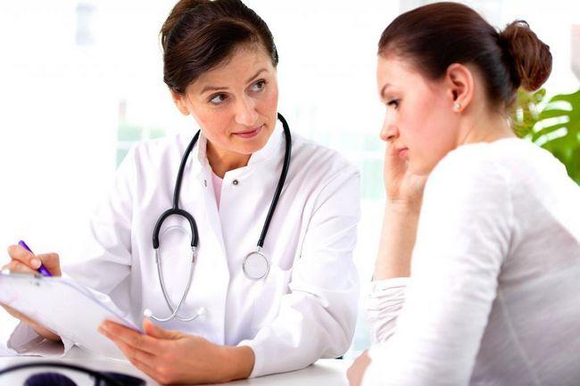 Žena kod liječnika