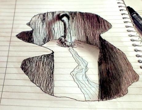 kako crtati 3d crteže