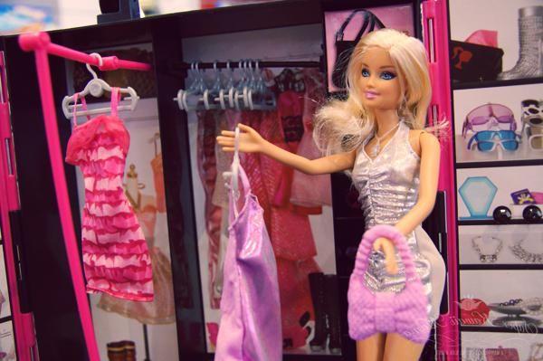 kako napraviti barbie garderobu
