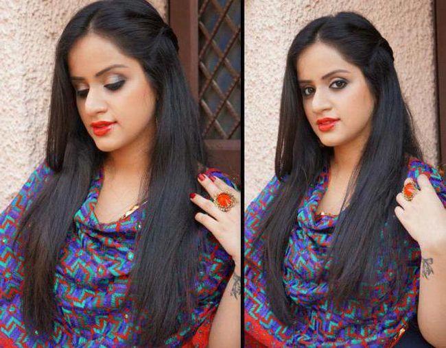makeup indijanske djevojke