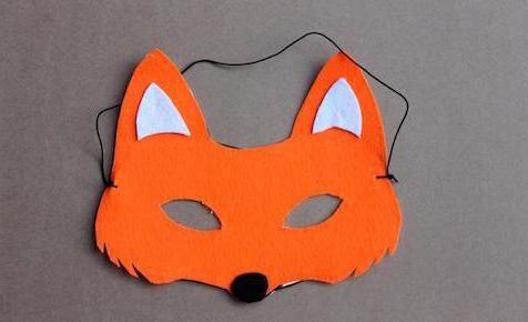 kako napraviti masku grudi iz papira