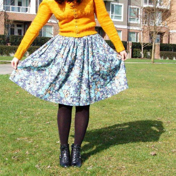 kako napraviti suknju iz haljine
