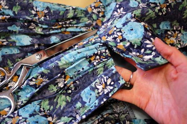 kako napraviti haljinu suknju kod kuće