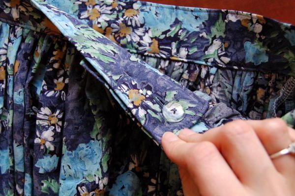 kako napraviti suknju iz djevojke haljina fotografija
