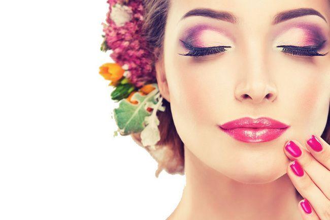 svijetle make-up za brinete