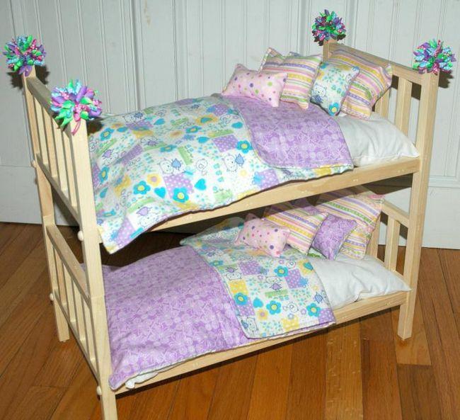 dva kreveta za lutke