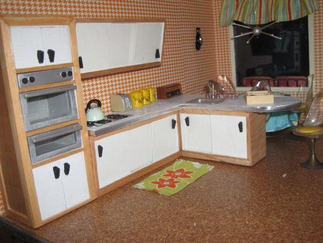 Kako napraviti kuhinju za lutke čudovište hi
