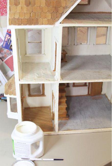 lutka kuća od kartona