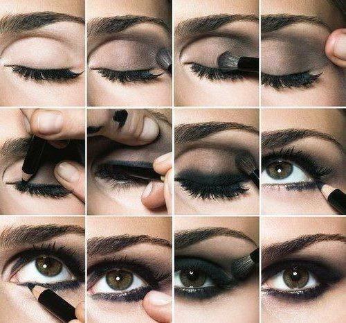 tehnika dlake šminke za oči