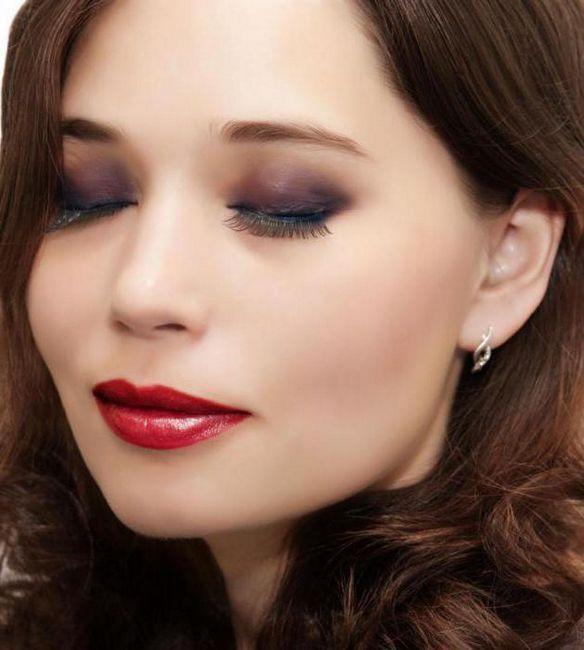 smokav make-up za zelene oči korak po korak