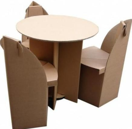 kartonska stol