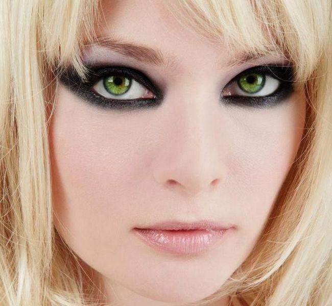 svakodnevni make-up za zelene oči korak po korak