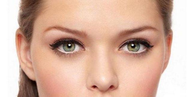 svakodnevni make-up za fotografiju zelenih očiju