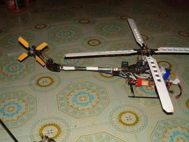 domaći helikopter na radio kontrolama