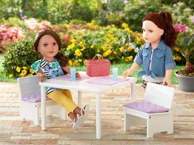 Kako napraviti stol za lutke
