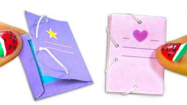 Kako napraviti bilježnicu za čudovišne hi lutke