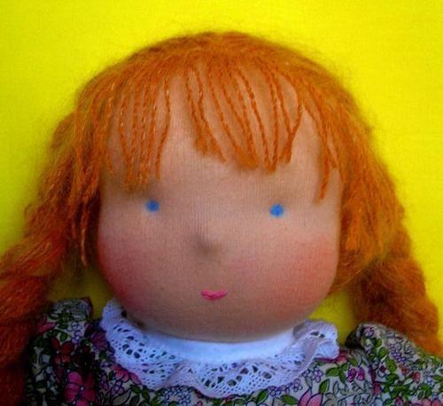 Kako šivati igračku i njegove male detalje: lutke, oči, kosa