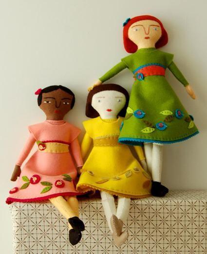 šivanje lutke