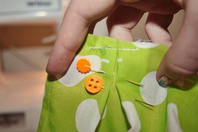 Kako šivati suknju u nabori?