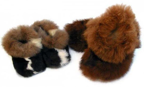 čizme izrađene od ovčjeg kože