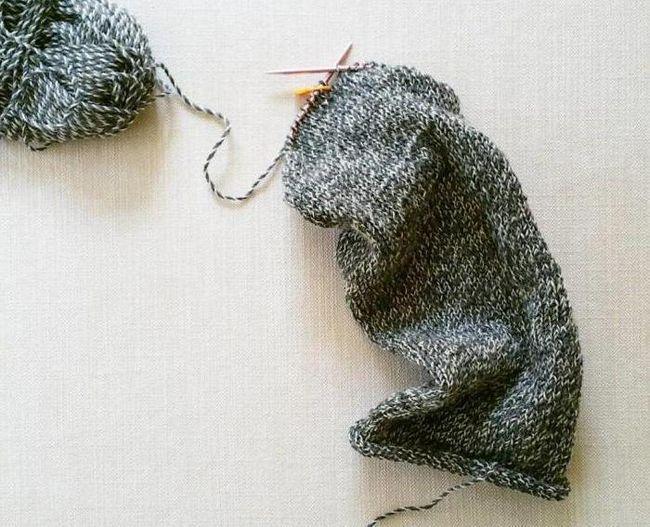 kako vezati svoj turban sa iglama za pletenje