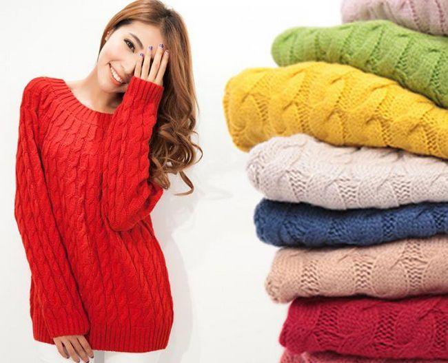 plesti džemper